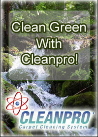 Clean green with Cleanpro!