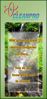 Cleanpro Carpet cleaning System